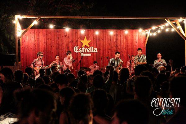 Los Retrovisores en el Festival Cruïlla 2015. Foto: Alba Nàjera
